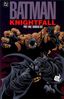 BATMAN KNIGHTFALL PART 1 BROKEN BAT TP