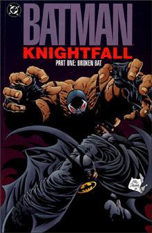 BATMAN KNIGHTFALL PART 1 BROKEN BAT TP