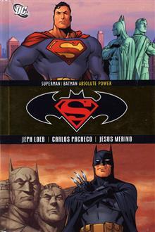 SUPERMAN BATMAN ABSOLUTE POWER HC