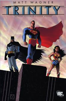 TRINITY BATMAN SUPERMAN WONDER WOMAN TP