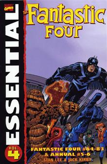 ESSENTIAL FANTASTIC FOUR VOL 4