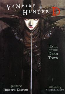 VAMPIRE HUNTER D VOL 4 TALE OF DEAD TOWN NOVEL TP