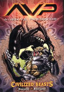 ALIENS VS PREDATOR VOL 2 CIVILIZED BEASTS GN (RES)