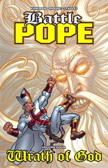 BATTLE POPE VOL 4 WRATH OF GOD TP (MR)