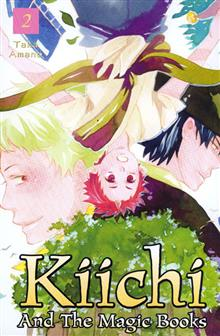 KIICHI AND THE MAGIC BOOKS VOL 02