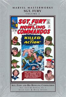 MMW SGT FURY HC VOL 02