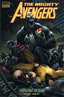 MIGHTY AVENGERS VOL 2 VENOM BOMB PREM HC
