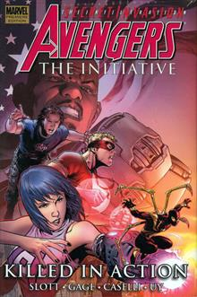 AVENGERS THE INITIATIVE VOL 2 KILLED ACTION PREM HC