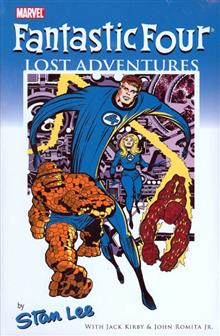 FANTASTIC FOUR PREM HC LOST ADVENTURES STAN LEE DM ED