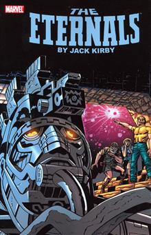 ETERNALS BY JACK KIRBY TP BOOK 01