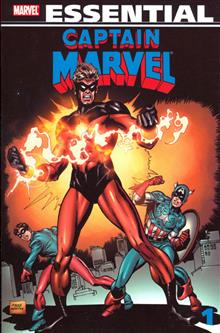 ESSENTIAL CAPTAIN MARVEL TP VOL 01