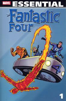 ESSENTIAL FANTASTIC FOUR TP VOL 01 NEW ED