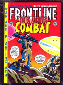 EC ARCHIVES FRONTLINE COMBAT VOL 1 HC