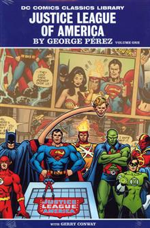 DC LIBRARY JLA BY GEORGE PEREZ VOL 1 HC