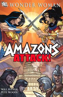 WONDER WOMAN AMAZONS ATTACK TP