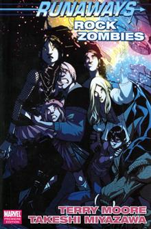 RUNAWAYS ROCK ZOMBIES PREM HC DM ED