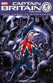 CAPTAIN BRITAIN AND MI 13 VOL 2 HELL COMES TO BIRMINGHAM TP