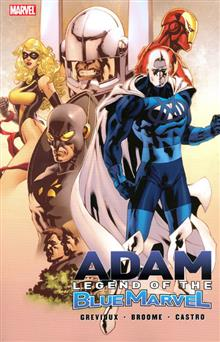 ADAM LEGEND OF THE BLUE MARVEL TP DM ED