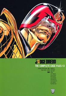 JUDGE DREDD COMPLETE CASE FILES VOL 13 TP