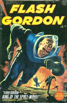 FLASH GORDON COMIC BOOK ARCHIVES HC VOL 01