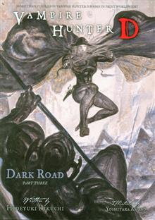 VAMPIRE HUNTER D NOVEL VOL 15 DARK ROAD PT 3