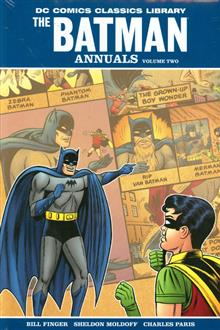 DC LIBRARY BATMAN THE ANNUALS HC VOL 02