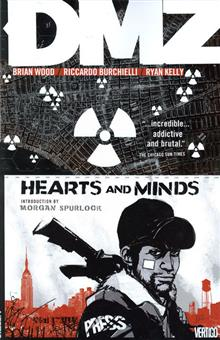 DMZ TP VOL 08 HEARTS AND MINDS (MR)