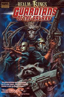 GUARDIANS OF GALAXY PREM HC VOL 04 REALM OF KINGS