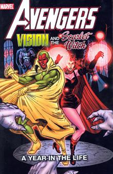AVENGERS VISION & SCARLET WITCH TP A YEAR IN LIFE