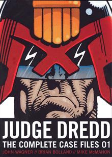 JUDGE DREDD COMP CASE FILES GN S&S ED