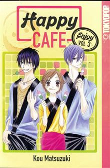 HAPPY CAFE GN VOL 03 (OF 14)
