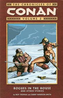 Chronicles of Conan Volume 2: Rogues in the House & Other Stories TPB