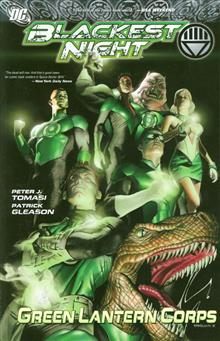 BLACKEST NIGHT GREEN LANTERN CORPS TP