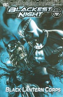 BLACKEST NIGHT BLACK LANTERN CORPS TP VOL 01