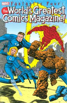 FANTASTIC FOUR WORLDS GREATEST COMICS MAGAZINE HC