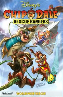 CHIP N DALE RESCUE RANGERS TP WORLDWIDE RESCUE