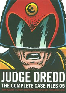 JUDGE DREDD COMP CASE FILES TP (S&S ED) VOL 05