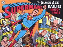 SUPERMAN SILVER AGE NEWSPAPER DAILIES HC 1959-1961