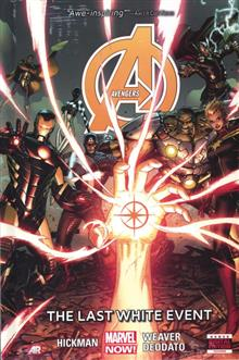 AVENGERS PREM HC VOL 02 LAST WHITE EVENT NOW