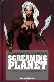 ALEXANDRO JODOROWSKY SCREAMING PLANET HC NEW PTG (