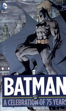 BATMAN A CELEBRATION OF 75 YEARS HC