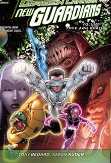 GREEN LANTERN NEW GUARDIANS TP VOL 03 LOVE & DEATH
