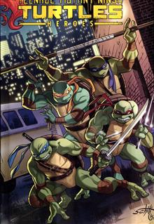 TMNT HEROES COLLECTION HC