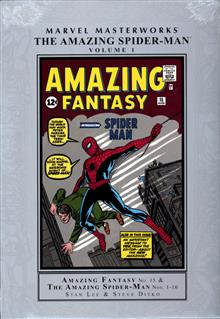 MMW AMAZING SPIDER-MAN HC VOL 01 NEW PTG