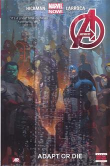 AVENGERS PREM HC VOL 05 ADAPT OR DIE