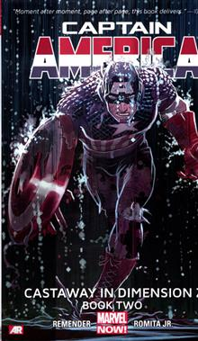 CAPTAIN AMERICA TP VOL 02 CASTAWAY DIMENSION Z BOOK