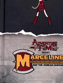 ADVENTURE TIME MARCELINE & SCREAM QUEENS MATHEMATICAL ED HC