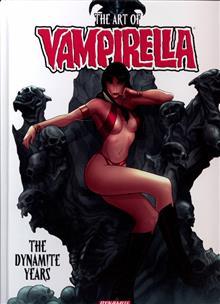 ART OF VAMPIRELLA DYNAMITE YEARS HC