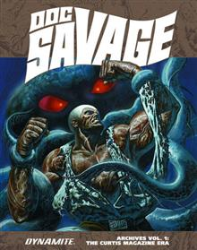 DOC SAVAGE ARCHIVES HC VOL 01 CURTIS MAG ERA (MR) (C: 0-1-2) *Special Discount*