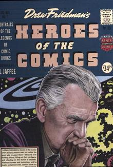 HEROES O/T COMICS HC PORTRAITS PIONEERING LEGENDS